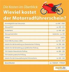 Wie Teuer Ist Ein Führerschein - wie viel kostet ein motorradf 252 hrerschein markt de