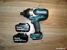 makita dtw 1001 makita dtw1001 18v klucz udarowy 3 4 quot 1050nm 2 baterie