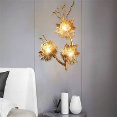 modern brass wall l wall light home lighting led copper branch wall sconce l for living