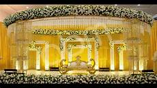 Wedding Stage Decoration With Flowers