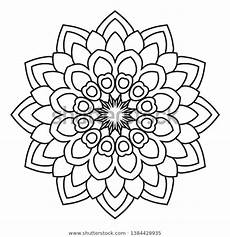 mandala coloring pages beginner 17872 easy mandala coloring page adults beginners stock illustration 1384428935
