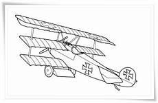 malvorlagen flugzeuge kostenlos