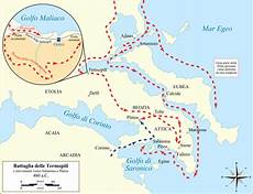 greco persiana file battle of thermopylae and movements to salamis and