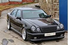 Mercedes W210 With Mae Wheels Benztuning