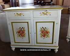 credenze dipinte credenza cucina in legno dipinta a mano laccata con decori