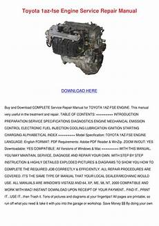 small engine repair manuals free download 2000 toyota corolla electronic toll collection toyota 1az fse engine service repair manual by hanh keach issuu