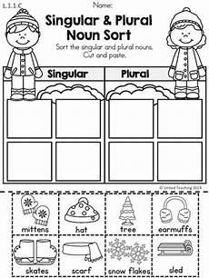 worksheets on singular and plural nouns for kindergarten winter literacy worksheets 1st grade most popular