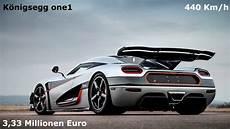 one auto top 10 der schnellsten sportwagen der welt