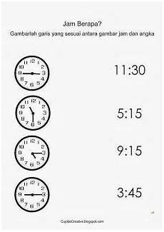 Gambar Jam Untuk Belajar Anak Sd Cara Mengajarku