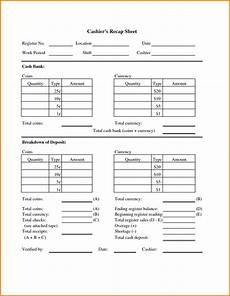 cash drawer balance sheet authorization letter pdf