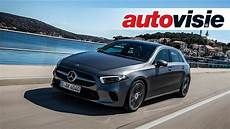 mercedes a klasse 2018 test autovisie tv