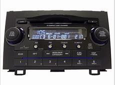 HONDA CRV CR V XM Radio AUX Stereo 6 Disc CD Changer MP3