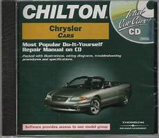 small engine repair manuals free download 1993 plymouth grand voyager parking system 1981 1999 chilton s chrysler cars repair cd rom