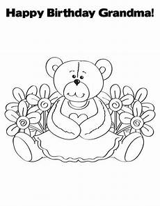 happy birthday coloring pages enjoy coloring