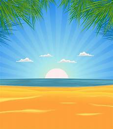 summer beach landscape download free vectors clipart graphics vector art
