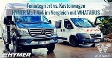Teilintegriert Vs Kastenwagen Der Hymer Ml T 570 4x4 Im