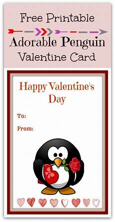 Free Printable Penguin S Day Card
