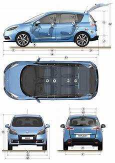dimensions grand scenic 3 dimensions exactes ouverture verticale coffre scenic iii