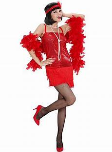 disfraz de cabaret a 241 os 20 rojo para mujer comprar