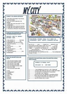 places in my city worksheets 15968 199 free esl prepositions of place worksheets