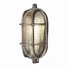 copper oval bulkhead wall light ip64 fitting for lighting outside