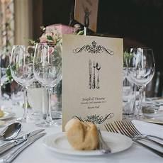 Wedding Menu Vintage Inspired