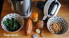 recette soupe 233 pic 233 e avec le blender chauffant soupmaker