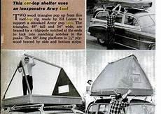 Dachzelt Selber Bauen - diy roof top tent ideas compact cing concepts