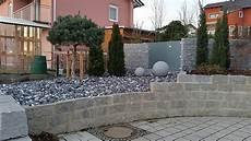 Gabionen Gartengestaltung Bilder