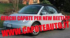 Capote Cappotta Volkswagen New Beetle Cabrio In Sonnenland