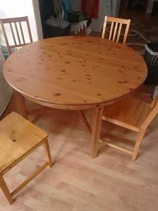 ikea dining table solid wood extendable with 4