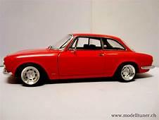 Alfa Romeo 1750 GTV 1967 Red Wheels Alu 13 Inches Autoart