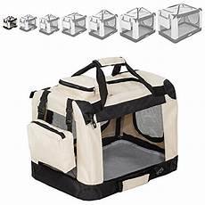 gabbia per cani aereo tectake tectake borsa per box gabbia pieghevole auto