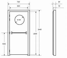 dimension d une porte standard portes isophoniques iso po porte acoustique