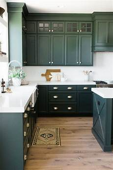 Kitchen Cabinet Color Wood Floor by Parade Home Reveal Pt 1 Decorating Green Kitchen