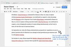 how to link to a specific paragraph of a google document