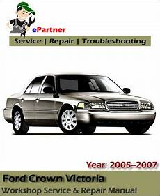 car manuals free online 1998 ford crown victoria auto manual ford crown victoria service repair manual 2005 2007 automotive service repair manual