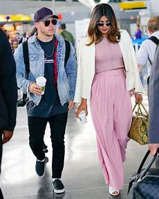 nick jonas priyanka chopra nick jonas and priyanka chopra land at jfk airport