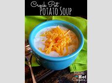 crock pot potato soup image
