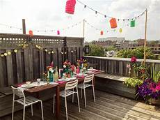 Decorations For Rooftop by Rooftop Summer Vintage Table Setting By The Sweet Escape