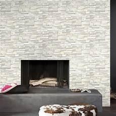 papier peint intissé blanc papier peint intiss 233 brique marbre blanc leroy merlin