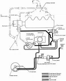 89 nissan sentra vacuum diagram repair guides