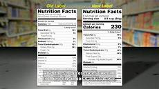 reading and understanding the new food label