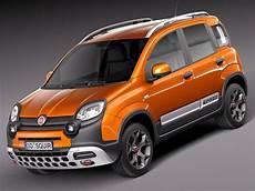 3d 2014 Fiat Panda Model
