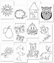 Einfache Malvorlagen Kleinkinder Das Malbuch Mit Sehr Einfachen Motiven F 252 R Kleinkinder
