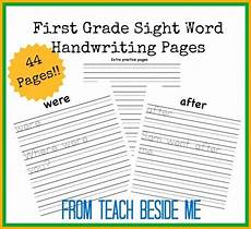 algebra worksheets 8423 free grade sight word handwriting pages grade sight words grade sight words