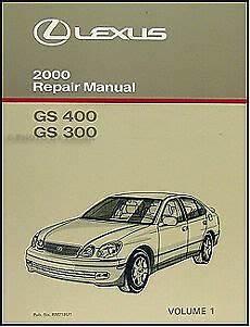 best auto repair manual 2004 lexus gs on board diagnostic system 2000 lexus gs 300 400 repair manual volume 1 gs300 gs400 shop book new oem ebay