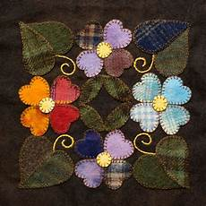 felt applique patterns wool appliqu 233 intimistic quilt company inspired by