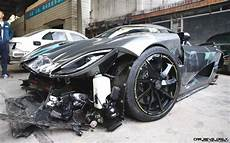 top 3 most expensive car crashes in history 187 car revs
