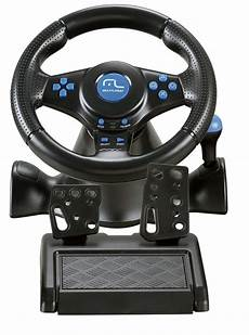volante pc volante joystick pedal multilaser racer 3x1 para ps2 ps3
